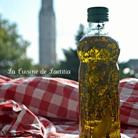 huile aromatisée